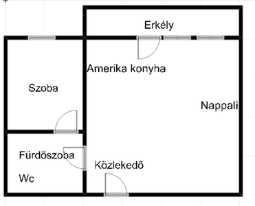 Kiadó téglalakás - Siófok (Ezüstpart) / 7. kép