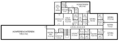 Eladó szálloda, panzió, üdülő - Balatonlelle / 7. kép