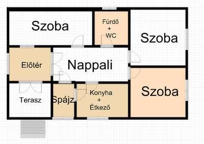 Eladó családi ház - Kaposvár (Ivánfahegy) / 7. kép